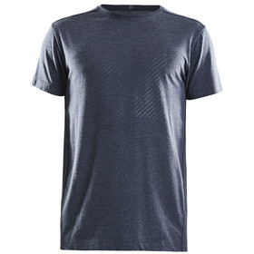 Craft Deft 2.0 T-shirt Heren, blaze melange